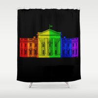 equality Shower Curtains featuring Marriage Equality by End Of Prohibition
