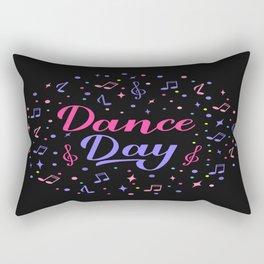 Dance Day Rectangular Pillow
