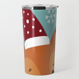 Xmas fox Travel Mug
