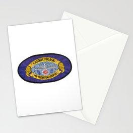 USS CASIMIR PULASKI (SSBN-633) PATCH Stationery Cards