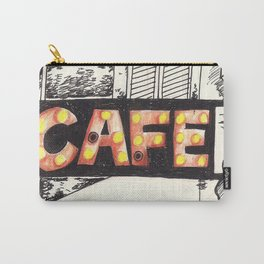 Cafe de Paris Carry-All Pouch