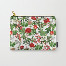 Seamles Botanical Pattern Carry-All Pouch