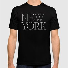 New York  Empire Type T-shirt