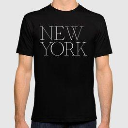 New York  Empire Type T-shirt