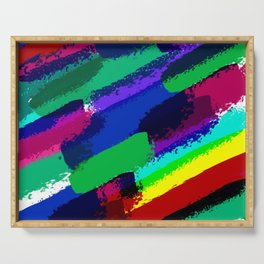 Colorful ink Serving Tray
