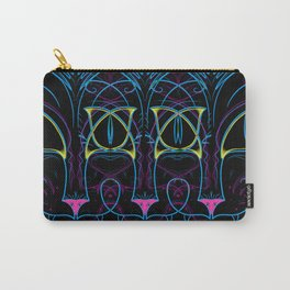 Neon Kitty Carry-All Pouch