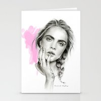 cara Stationery Cards featuring Cara by Coconut Wishes