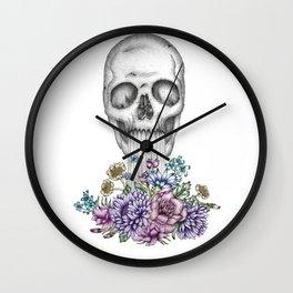 The Birth of Death II Wall Clock