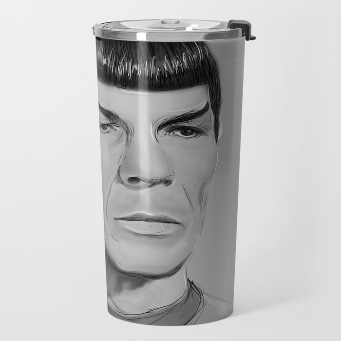 Spock Portrait Star Trek Travel Mug