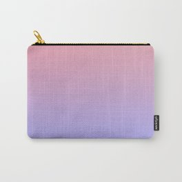 Pink & Purple Faded Ombre Carry-All Pouch