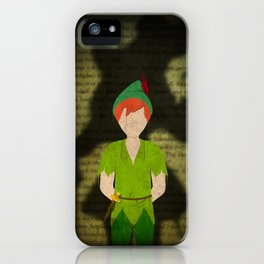 Shadow Collection, Series 2 - Lost Boy iPhone Case
