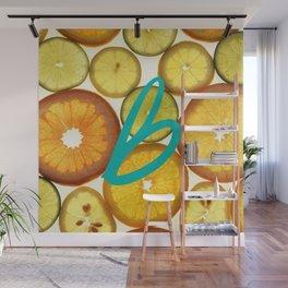 Citrus - Citron (Recettes du Bonheur) Wall Mural