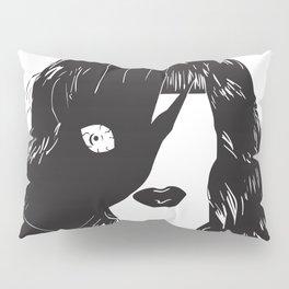 Yekaterina Petrovna Zamolodchikova Black&White Pillow Sham