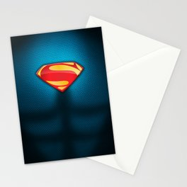Man of Steel Suit Stationery Cards