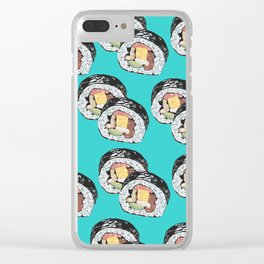 """""""Sushi Obsession"""" Clear iPhone Case"""