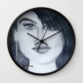 Demi sketch Wall Clock