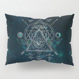 Mystical Sacred Geometry Ornament Pillow Sham