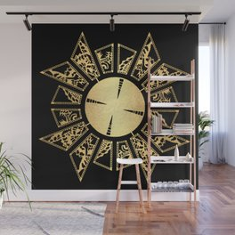 Lament Configuration Opened - Natural Wall Mural