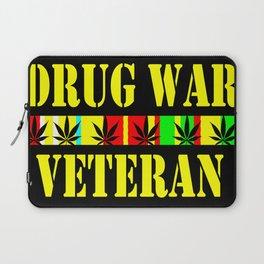 DRUG WAR VETERAN Laptop Sleeve