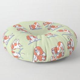 Cavalier King Charles Spaniel Yoga Floor Pillow
