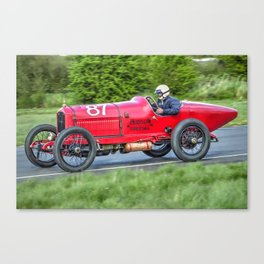 Vintage Racing Car - Hudson Special Canvas Print
