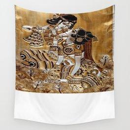 Indian God Radha Krishna Wall Tapestry