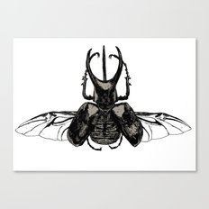 Scarab Two Canvas Print