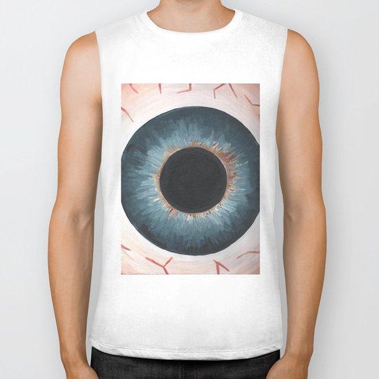 Eyes Biker Tank