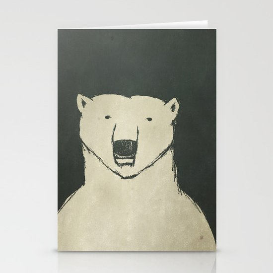 Polar Bear Stationery Cards