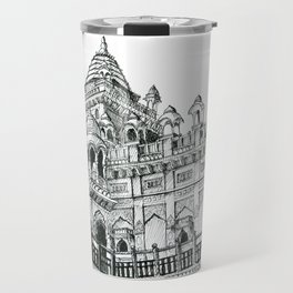 Rajasthan Palace White Travel Mug