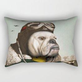 "Wing Commander, Benton ""Bulldog"" Bailey of the RAF Rectangular Pillow"