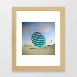 #Fusion #Ball #20160930 Framed Art Print