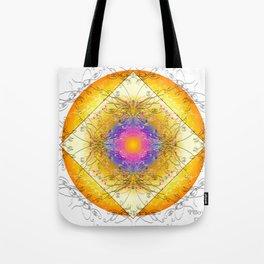 Mandala Blanca Tote Bag