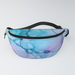 Alcohol Ink - Calm Fanny Pack
