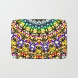 Colorful 3D Abstract Sun Bath Mat