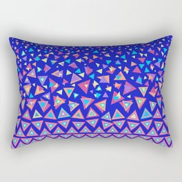 Triangle Dance Rectangular Pillow