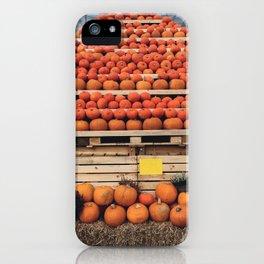 Pumpkin Mountain iPhone Case