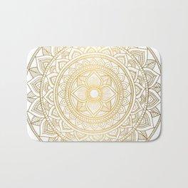 Gold Bali Mandala Bath Mat