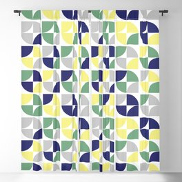 Colorful Pop Pattern Blackout Curtain