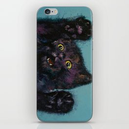 Ninja Kitten iPhone Skin