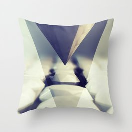 Diamond Rise Throw Pillow