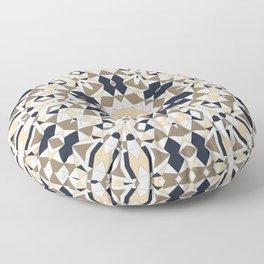 Mandala grey and beige Floor Pillow