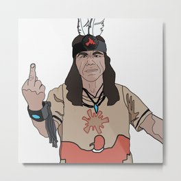 Mato at Standing Rock Metal Print