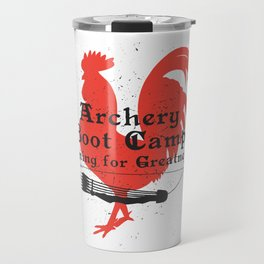 Archery Boot Camp >>-----> Aiming for Greatness Travel Mug