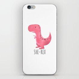 She-Rex iPhone Skin