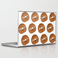 sloths Laptop & iPad Skins featuring So Many Sloths by tripinmidair
