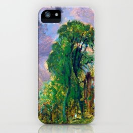 John Constable View of Hampstead iPhone Case