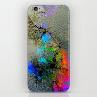 2pac iPhone & iPod Skins featuring Urban Rainbow by a.rose