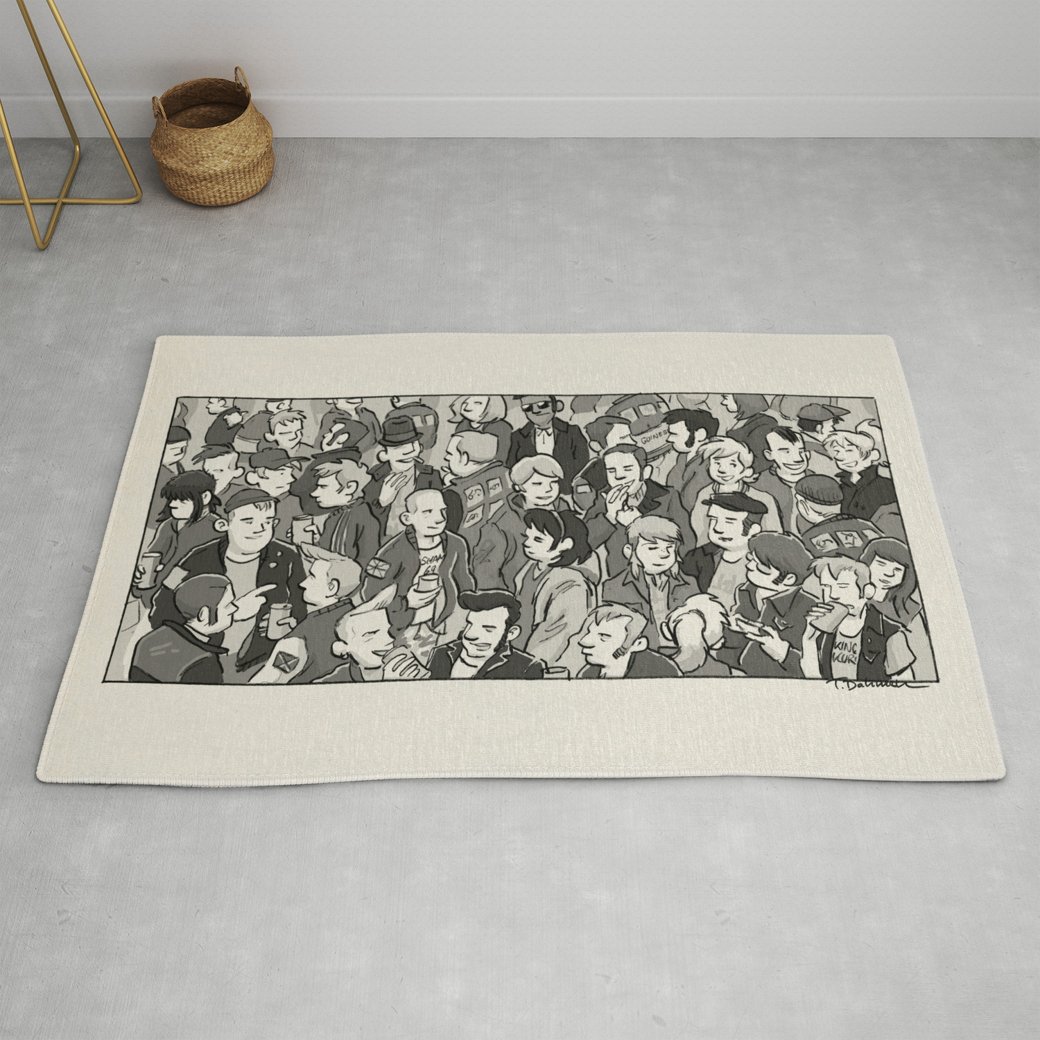Kids Are United Rug By Smalltownmod