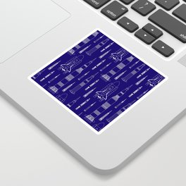 How We Get To Space Sticker